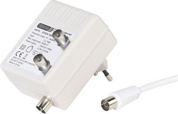 Vivanco DVB-C / DVB-T Zweigeräteverstärker (44175)