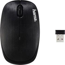 Hama AM-8000 wireless mouse black, USB (134932)