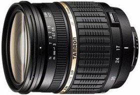 Tamron SP AF 17-50mm 2.8 XR Di II LD Asp IF for Pentax K black (A16P)