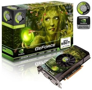 Point of View GeForce GTX 550 Ti, 1GB GDDR5, 2x DVI, Mini HDMI (VGA-550-A1-1024)