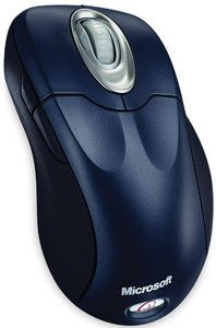 Microsoft Wireless IntelliMouse Explorer Metallic Blue, PS/2 &USB (M03-00039)