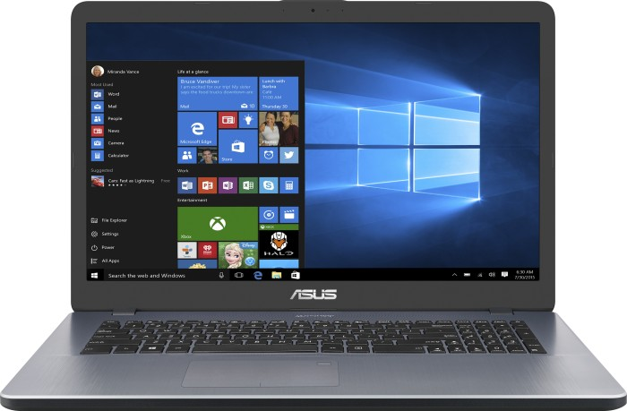 ASUS VivoBook 17 X705UA-BX321T Star Grey (90NB0EV1-M04720)