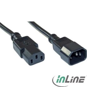 InLine ICE extension cable C13/C14 black, 1.8m (16632V)