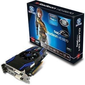 Sapphire Radeon HD 6870 FleX, 1GB GDDR5, 2x DVI, HDMI, 2x mini DisplayPort, full retail (11179-02-40G)