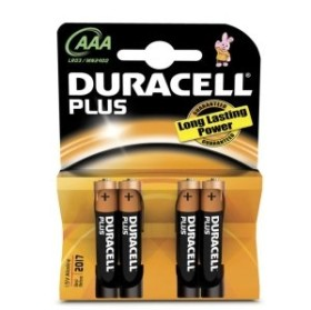 Duracell Plus Micro AAA, 4er-Pack