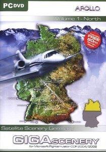 Flight Simulator 2004 - Giga Scenery Germany 1 (Add-on) (deutsch) (PC)