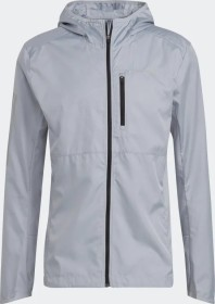 adidas Own The Run Hooded Laufjacke halo silver (Herren) (GJ9949)