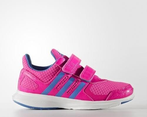 adidas Hyperfast 2.0 shock pinkray blueftwr white (Junior) (AQ3856)