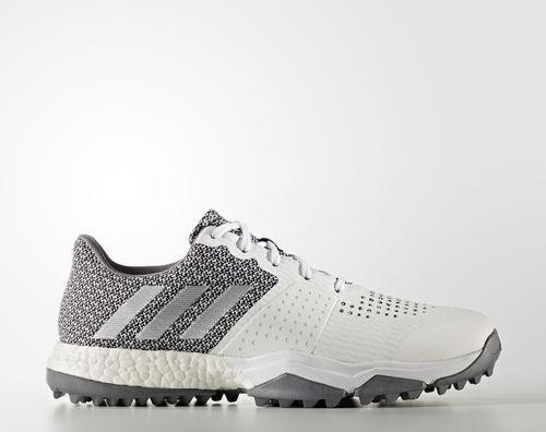 adidas Adipower S Boost 3 footwear white silver metallic light onix ... 43707239e
