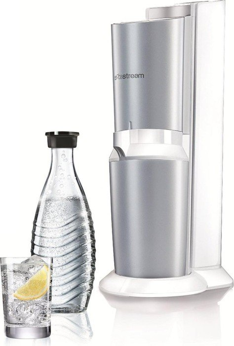 sodastream crystal soda maker titan white 1216511490 skinflint price comparison uk. Black Bedroom Furniture Sets. Home Design Ideas