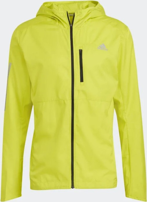 Bild adidas Own The Run Hooded Laufjacke acid yellow (Herren) (GJ9950)