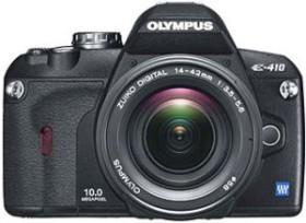 Olympus E-410 schwarz mit Objektiv 14-42mm 3.5-5.6 und 40-150mm 4.0-5.6 (N2929892)