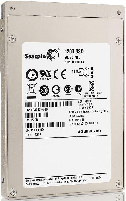 Seagate 1200 SSD SED 200GB, SAS (ST200FM0073)
