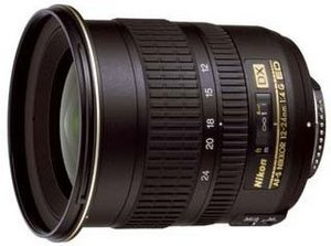Nikon lens AF-S DX 12-24mm 4.0G IF-ED (JAA784DA)