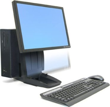 Ergotron Neo-Flex All-In-One pedestal (33-326-085) -- via Amazon Partnerprogramm