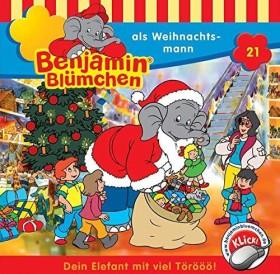 Benjamin Blümchen Folge 21 - ...als Weihnachtsmann