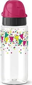 Emsa Drink2Go Tritan Kinder Trinkflasche Party Banderole 500ml (F3030600)