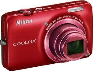 Nikon Coolpix S6300 red (VMA935E1)