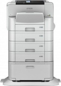 Epson WorkForce Pro WF-C8190D3TWC, Tinte, mehrfarbig (C11CG70401BP)