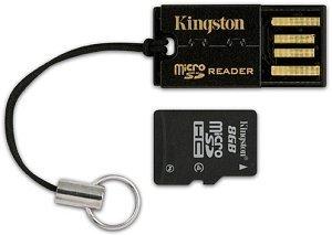 Kingston USB microSD/SDHC Reader, USB 2.0 (FCR-MRG2)
