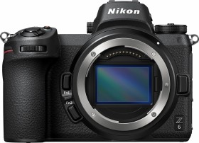 Nikon Z 6 mit Bajonettadapter FTZ und Speicherkarte (VOA020K008)