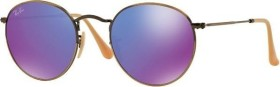 Ray-Ban RB3447 Round Metal 50mm gold/violett (RB3447-167/1M)