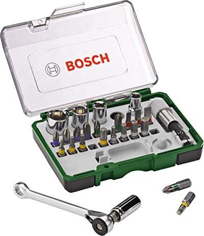 Super Bosch bit set/wrench set, 27-piece. (2607017160) starting from JC69