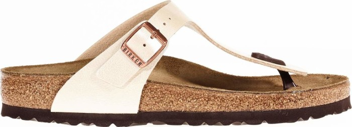 reputable site 6ecd9 d2e07 Birkenstock Gizeh graceful pearl white (Damen) (0943871/0943873) ab € 45,00