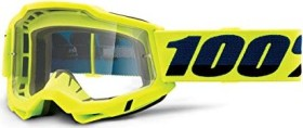 100% Accuri OTG Goggle fluo yellow/clear lens (50204-004-02)