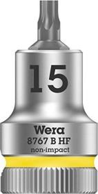 """Wera 8767 B HF Cyclops Torx socket 3/8"""" T15x35mm (05003060001)"""