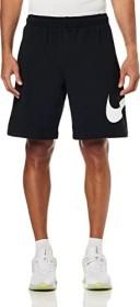 Nike NSW Club Hose kurz schwarz/white (Herren) (BV2721-010)