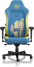 noblechairs Hero Fallout Vault Tec Edition Gamingstuhl, blau/gelb (NBL-HRO-PU-FVT)