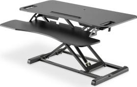 Digitus adjustable desk attachment, black (DA-90380-1)