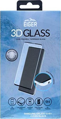 Eiger 3D Glass Screen Protector Case Friendly für Samsung Galaxy S10+ schwarz (EGSP00355) -- via Amazon Partnerprogramm