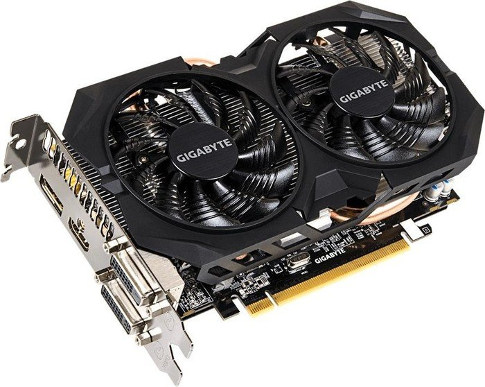 Gigabyte Radeon R7 370 WindForce 2X OC, 2GB GDDR5, 2x DVI, HDMI, DisplayPort (GV-R737WF2OC-2GD)