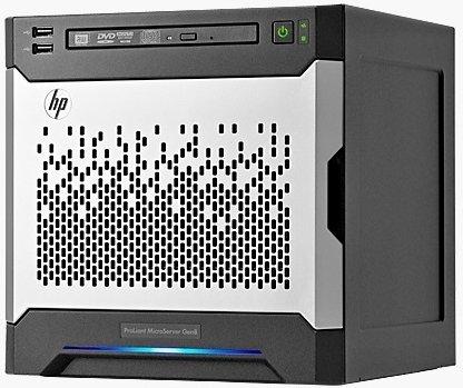 HP ProLiant MicroServer Gen8, Celeron G1610T, 4GB RAM (819185-421)
