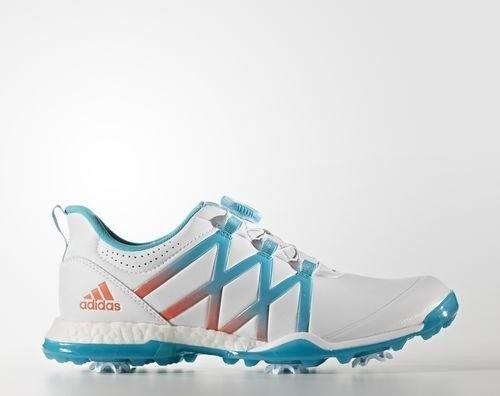 on sale f4480 b3927 adidas Adipower Boost Boa footwear whiteenergy blueeasy coral (Damen) (