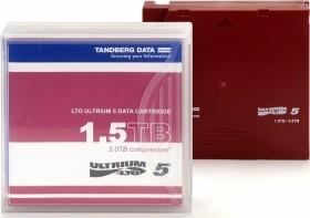 Tandberg Ultrium LTO-5 cassette Non-Custom Label, 5-pack (OV-LTO901505)