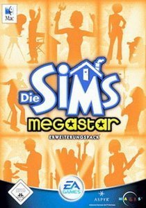 Die Sims - Megastar (Add-on) (niemiecki) (MAC)