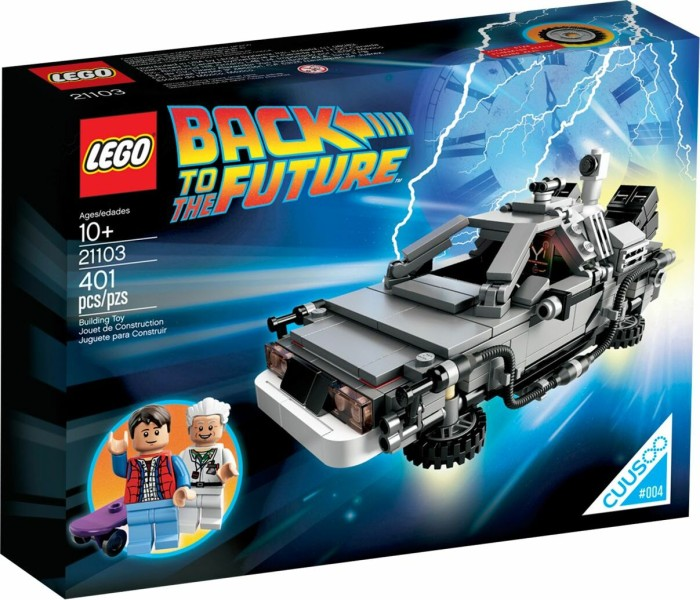 LEGO Ideas - Back to the Future The DeLorean Time Machine (21103)
