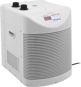 Hailea HC Series 500A Aquarienkühler weiß, Durchlaufkühler mit Kompressor, 200-1200l (HC-500A-WH)