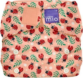 Bambino Mio Miosolo All-in-One Stoffwindel Loveable Ladybug, 4+kg, 1 Stück (SO BUG)