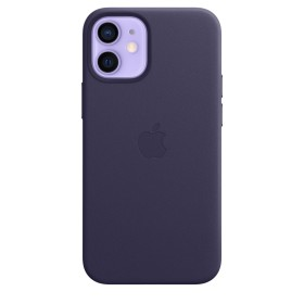 Apple iPhone 12 mini Silicone Case with MagSafe Deep Violet (MJYQ3ZM/A)