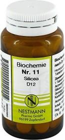 Nestmann Biochemie 11 Silicea D12 Tabletten, 100 Stück