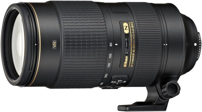 Nikon AF-S 80-400mm 4.5-5.6G ED VR black (JAA817EA/JAA817DA)