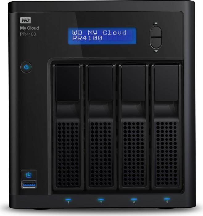Western Digital My Cloud Pro PR4100 8TB, 2x Gb LAN (WDBNFA0080KBK)