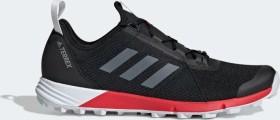 adidas Terrex Speed core black/cloud white/active red (Herren) (G26388)