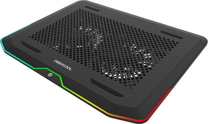 """DeepCool N80 RGB, 17.3"""" Notebook-Kühler schwarz"""