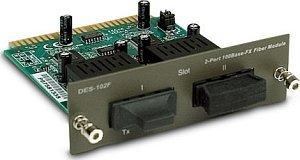 D-Link DES-102F, 2x 100Base-FX Slot Modul