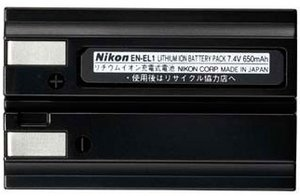 Nikon EN-EL1 Li-Ion battery (VAW12001)